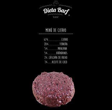 "Foto de Menú Ciervo ""Dieta Barf"" Pack 9Kg"