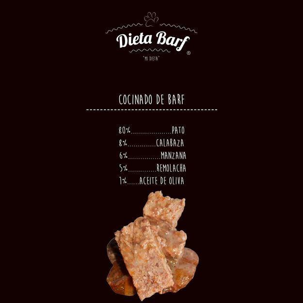 """Foto de Menú Pato COCINADO  """"Dieta Barf"""" - 6 Paquetes de 500g"""