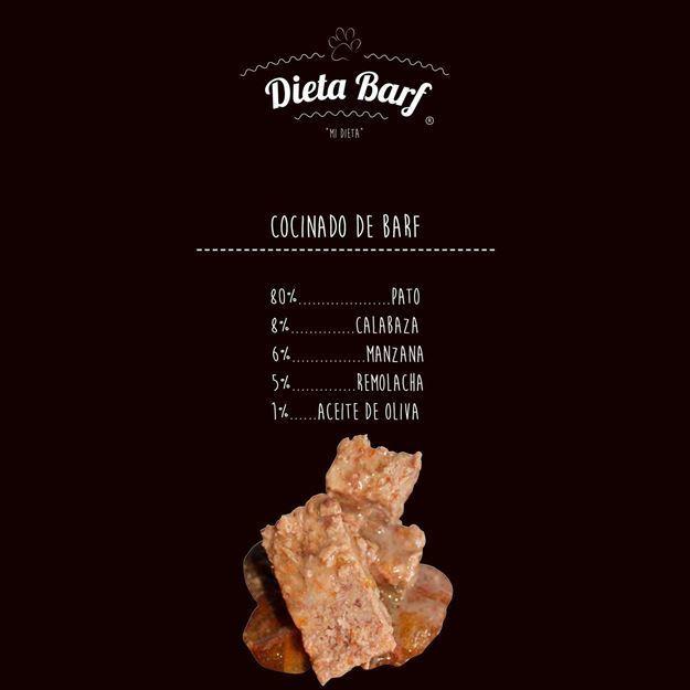 """Foto de Menú Pato COCINADO """"Dieta Barf"""" - 2 Paquetes de 500g"""