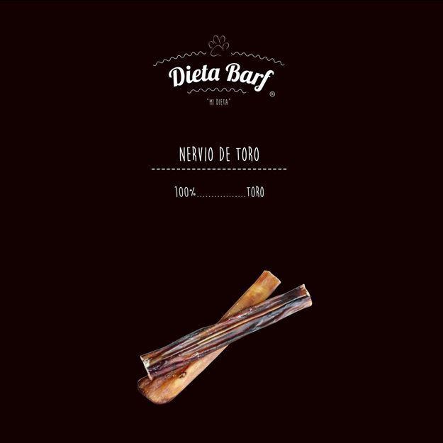 """Foto de Nervio de toro deshidratado """"Dieta Barf"""" 10 bolsas de 2 Unidades de 100g"""