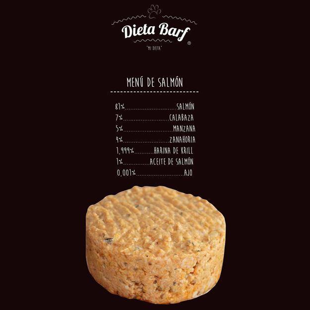 "Foto de Menú Salmon ""Dieta Barf"" Pack 9Kg"