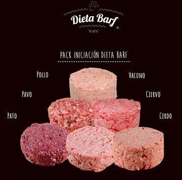 "Foto de Menú Pack Iniciacíon ""Dieta Barf"" Pack 9Kg"