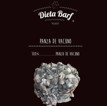 """Foto de Panza de Vacuno """"Dieta Barf"""" Pack 9Kg sobres de 500g -Complemento-"""