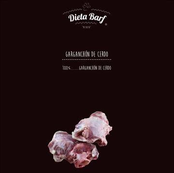 """Foto de Garganchón sin picar de Cerdo """"Dieta Barf"""" Pack 9Kg -Complemento-"""