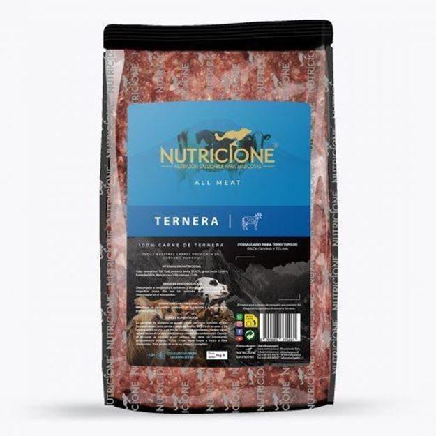 Foto de TERNERA SOLO CARNE 7kg para preparación de menú BARF
