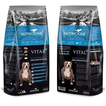 Foto de PIENSO ALTA ENERGÍA  POLLO Y ATÚN VITAL PLUS AVANZADO 20kg para perros
